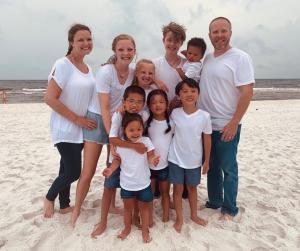 Large Family Living, Loving, & Learning