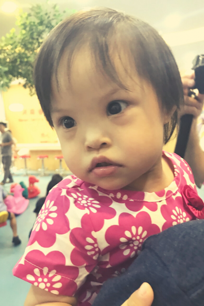 Down Syndrome Adoption - Piper age 2