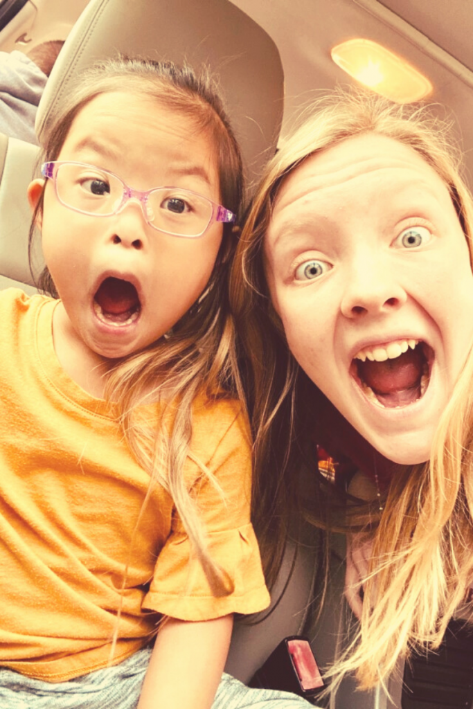 Down syndrome adoption - Piper age 6