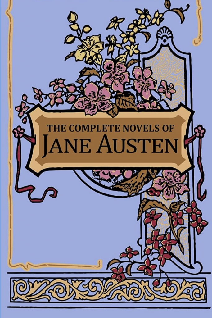"""""""The Complete Novels of Jane Austen"""" Cover"""