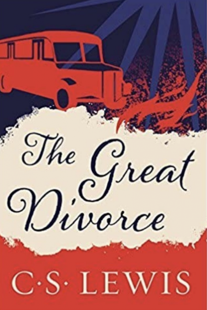 """""""The Great Divorce"""" Cover"""