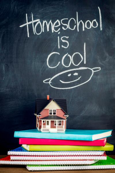 Homeschooling Is Cool Chalkboard