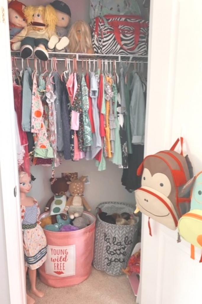 Girls Bedroom Closet