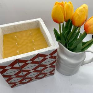 Ceramic Pot Candle