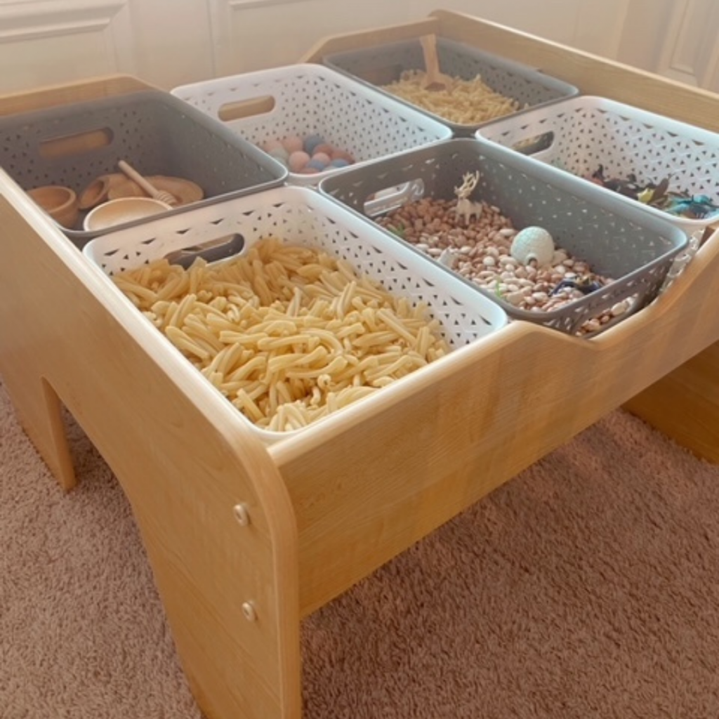 Sensory Table from the side