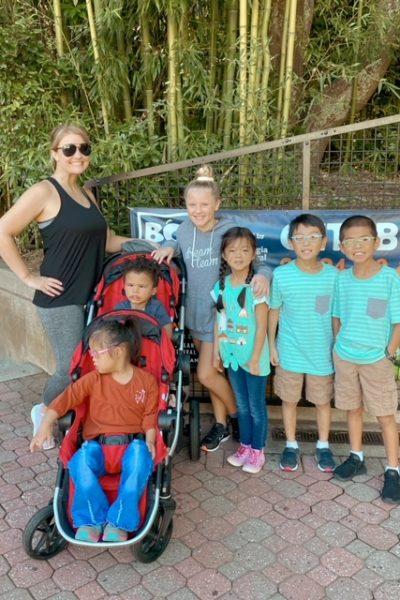Family at Zoo Atlanta